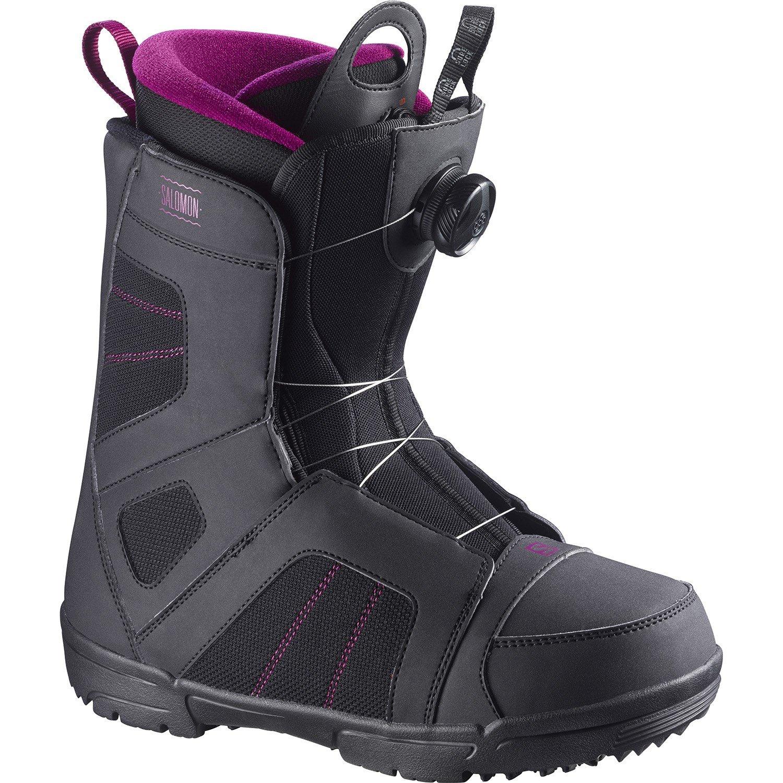 Salomon Scarlet Boa Snowboard Boots - Women's 2016   evo outlet