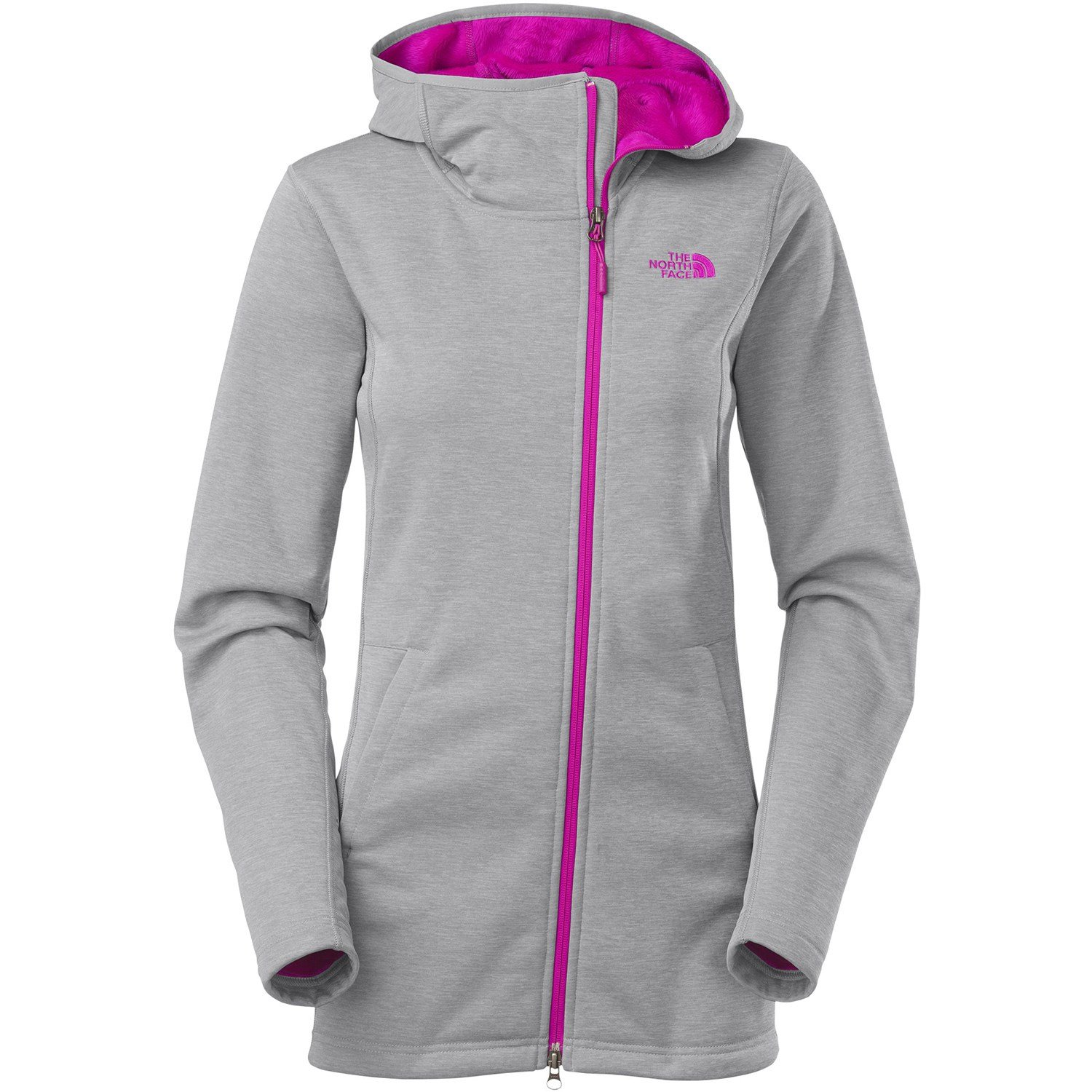 Womens North Face Sweatshirt Purple