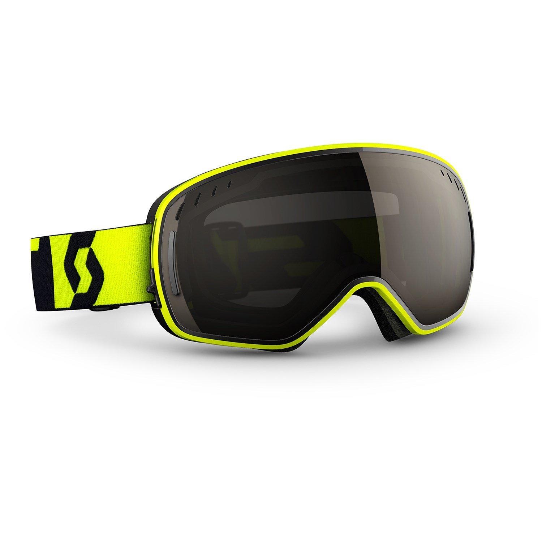 Yellow Ski Goggles 2017
