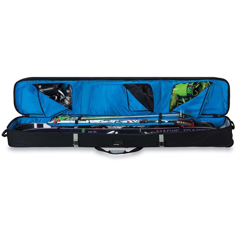 Double Ski Bag For Air Travel Sabis Bulldog Athletics