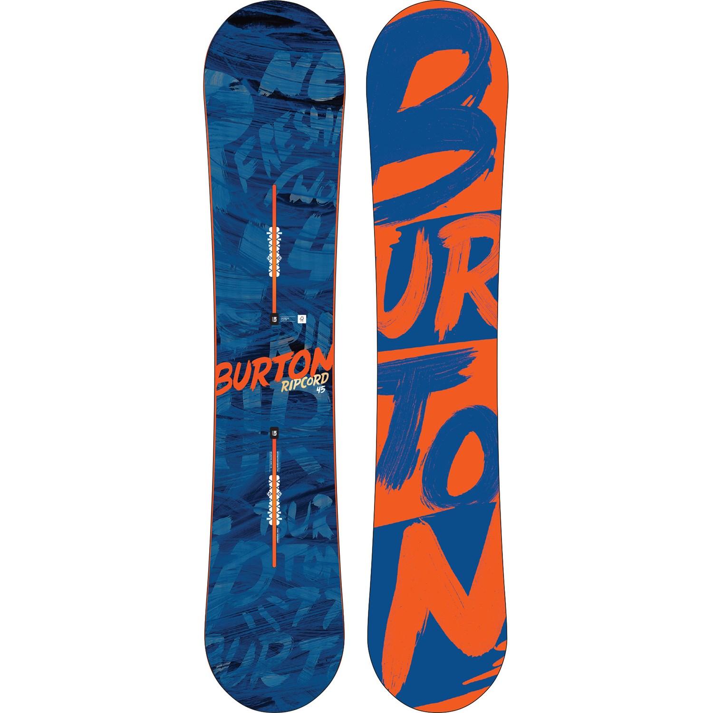 suosittu tuotemerkki ensimmäinen katsaus erikoismyynti Burton Ripcord Snowboard 2016
