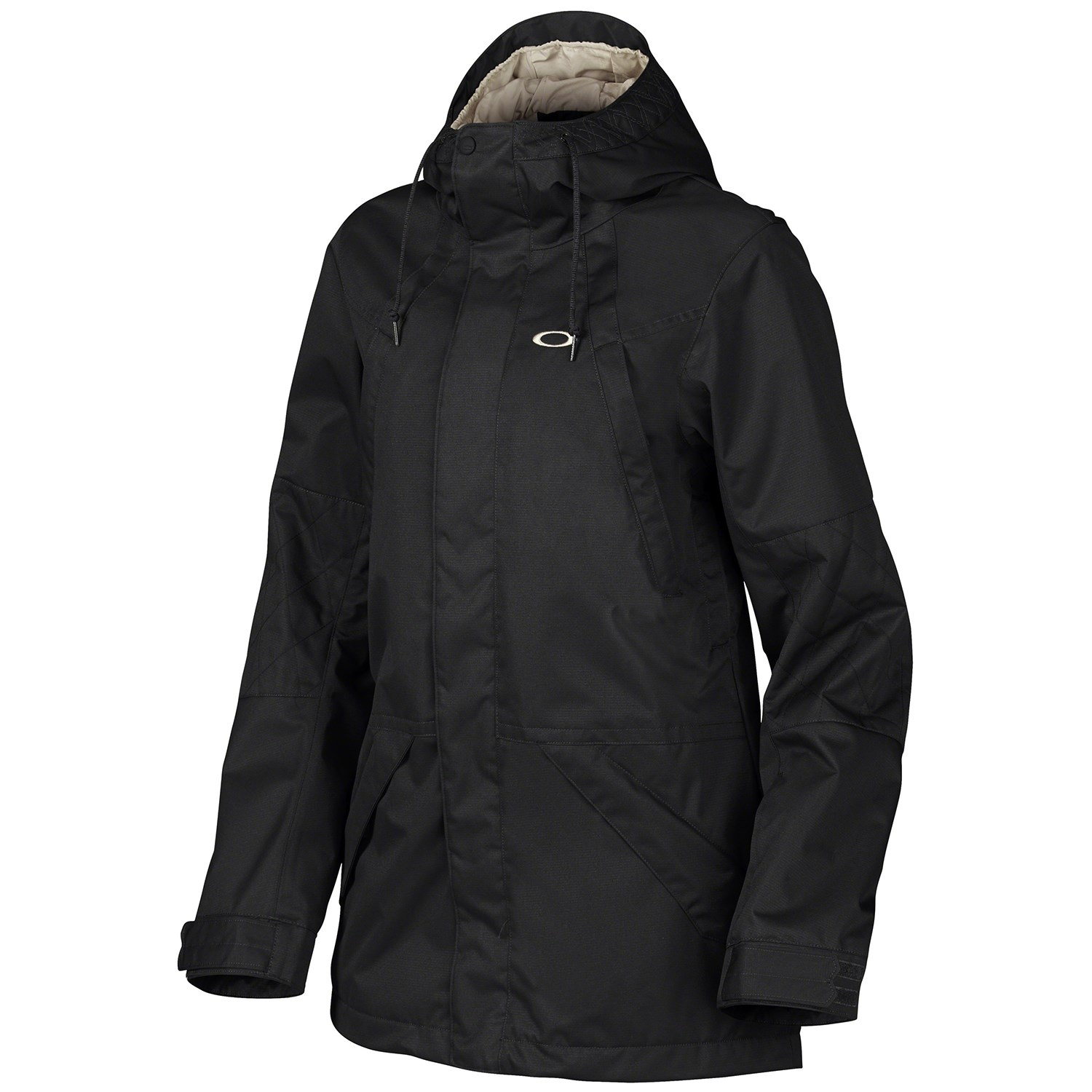 oakley ski jackets on sale  oakley willow biozone jacket women s jet black