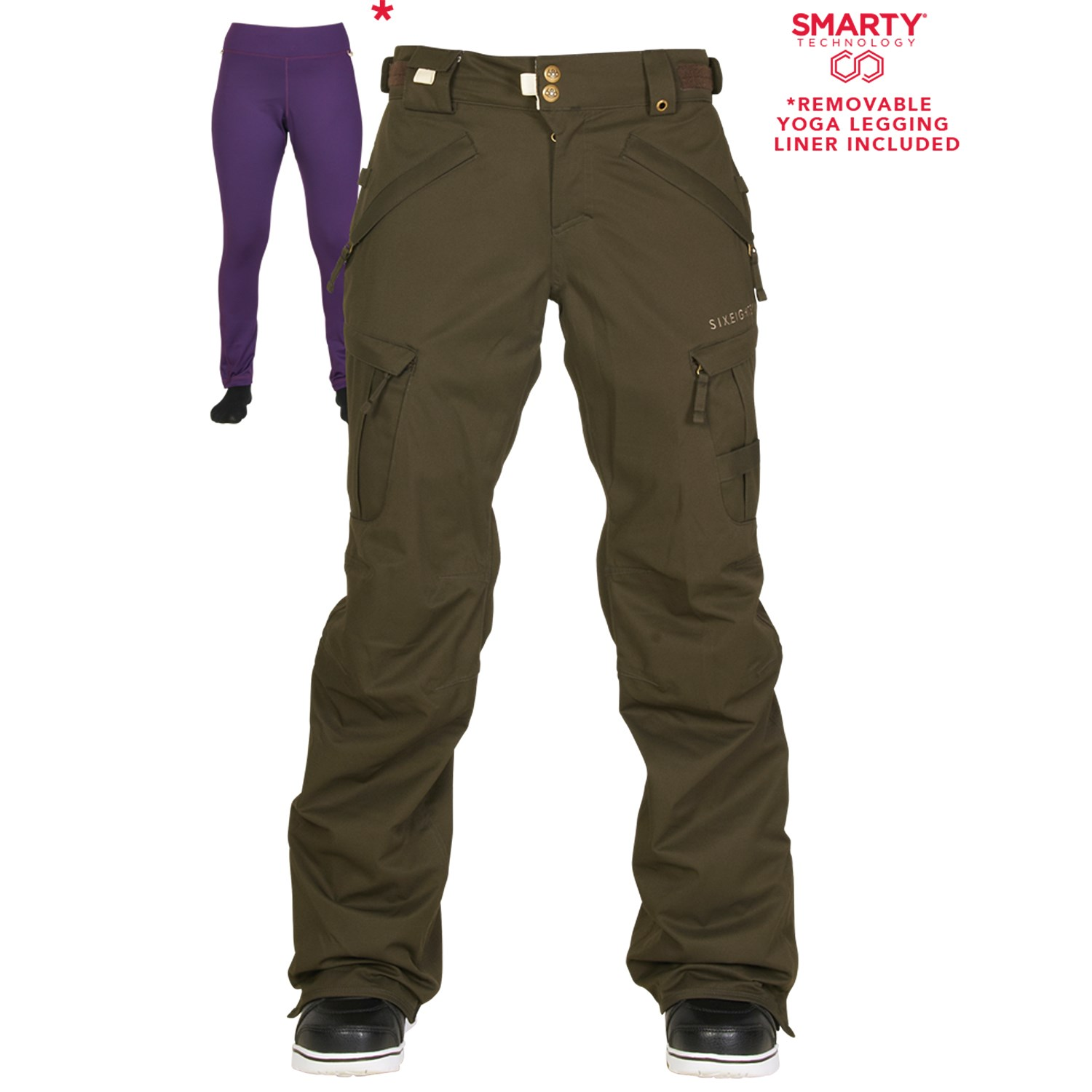 686 Authentic Smarty Cargo Pants - Women's | evo outlet