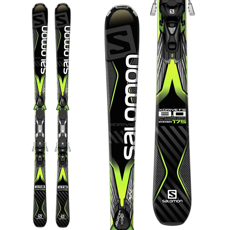 Salomon X Drive 80Ti 2015 Skis with Bindings
