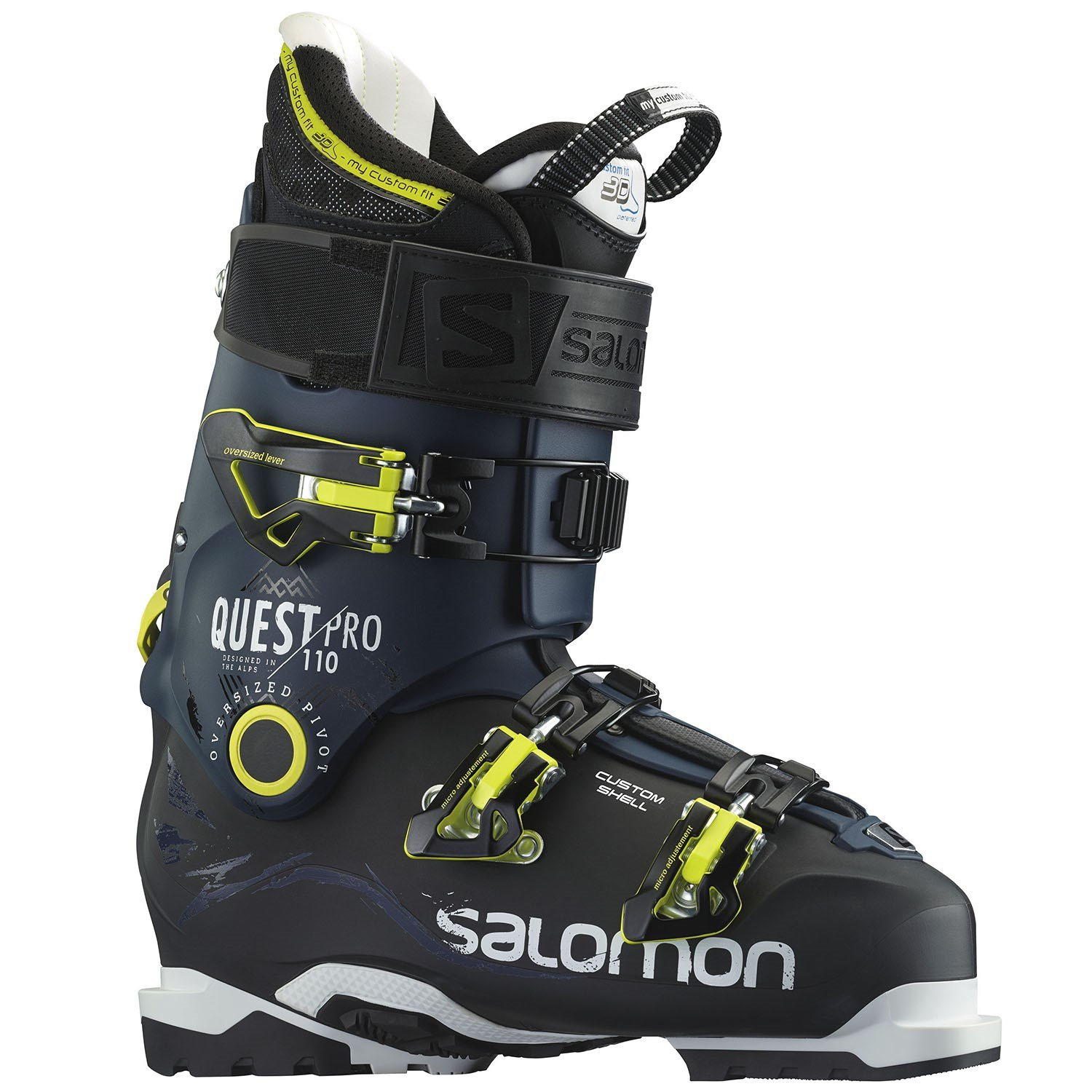 Used Ski Gear Evo Com >> Salomon Quest Pro 110 Ski Boots 2016 Used