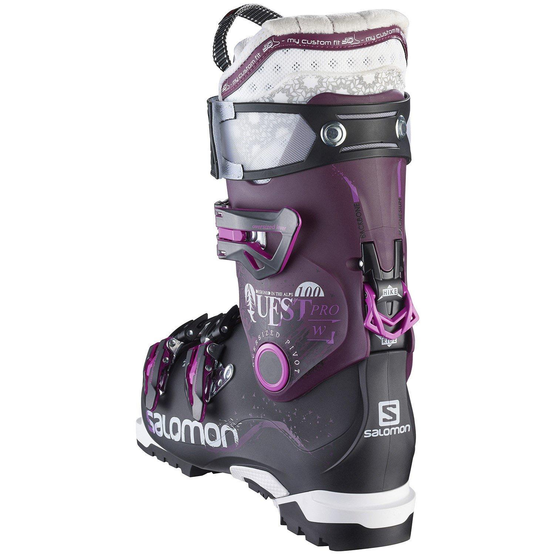 Boots Ski Women's Quest 100 Pro 2016 Salomon iOkZuPX