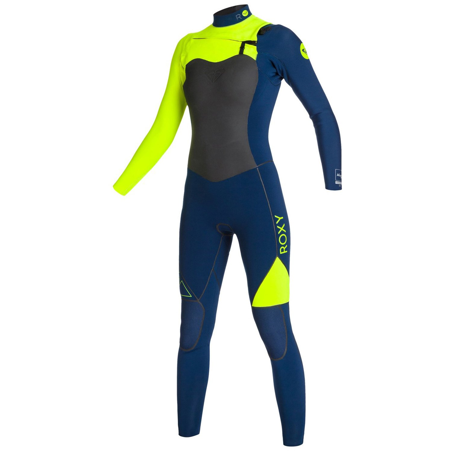 Roxy AG47 Performance 4 3 Chest Zip Wetsuit - Women s  0f5981c02
