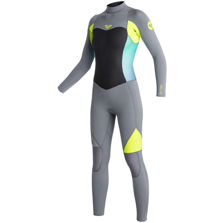 Roxy Syncro 5 4 3 Back Zip GBS Wetsuit - Women s  e1bf0f13e