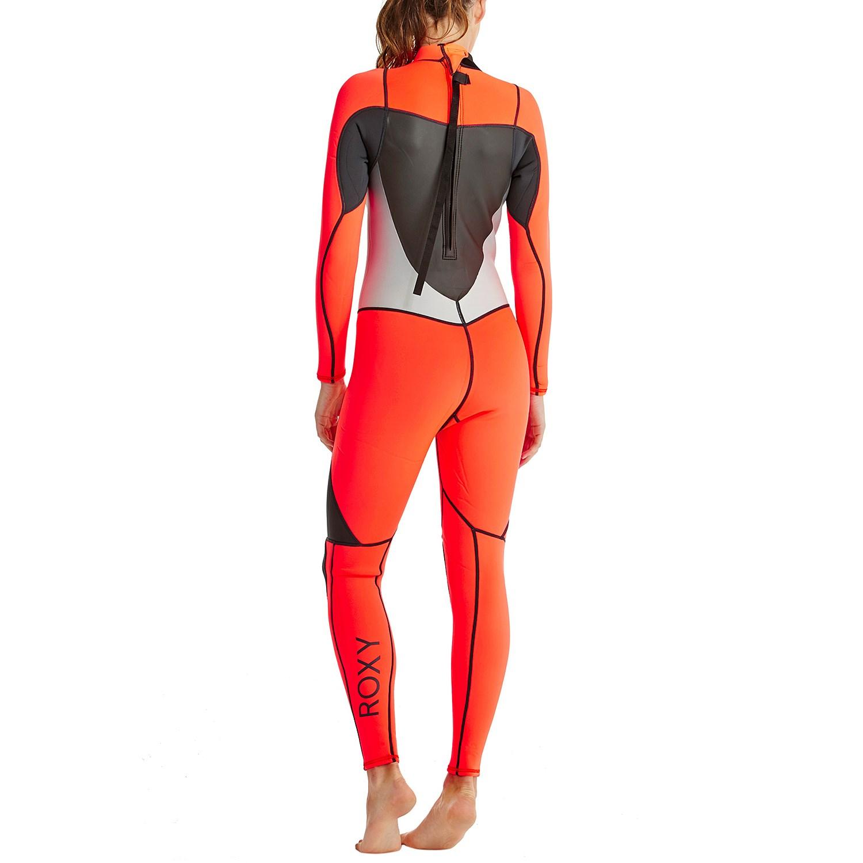 Roxy Syncro 3 2 Back Zip Flat Lock Wetsuit - Women s  5e7fceb2c