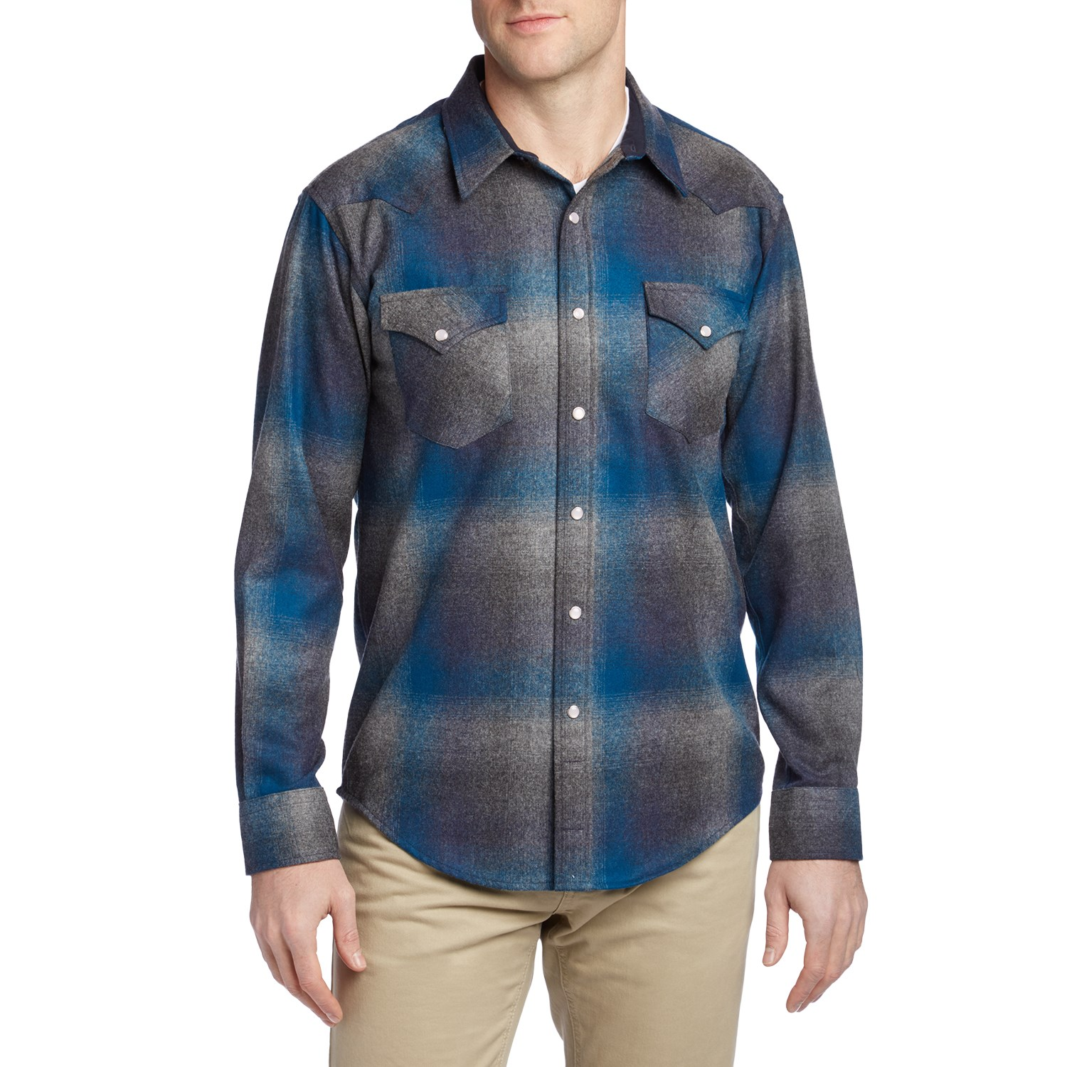 b9144650a5789 Pendleton Canyon Fitted Long-Sleeve Button-Down Flannel  104.99