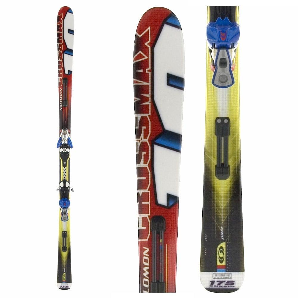 Salomon Crossmax 10 Skis + Bindings