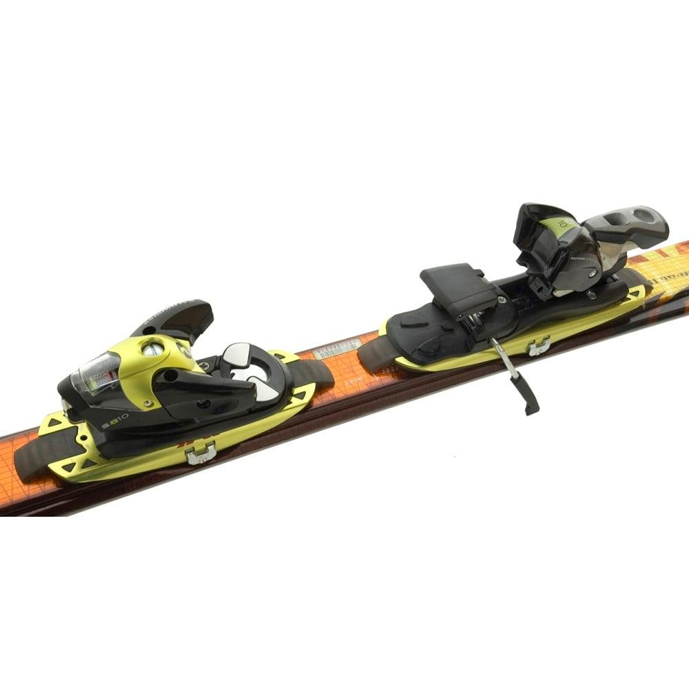 9a175c679654 Salomon Scream 10 Hot Skis + Bindings - Used 2004