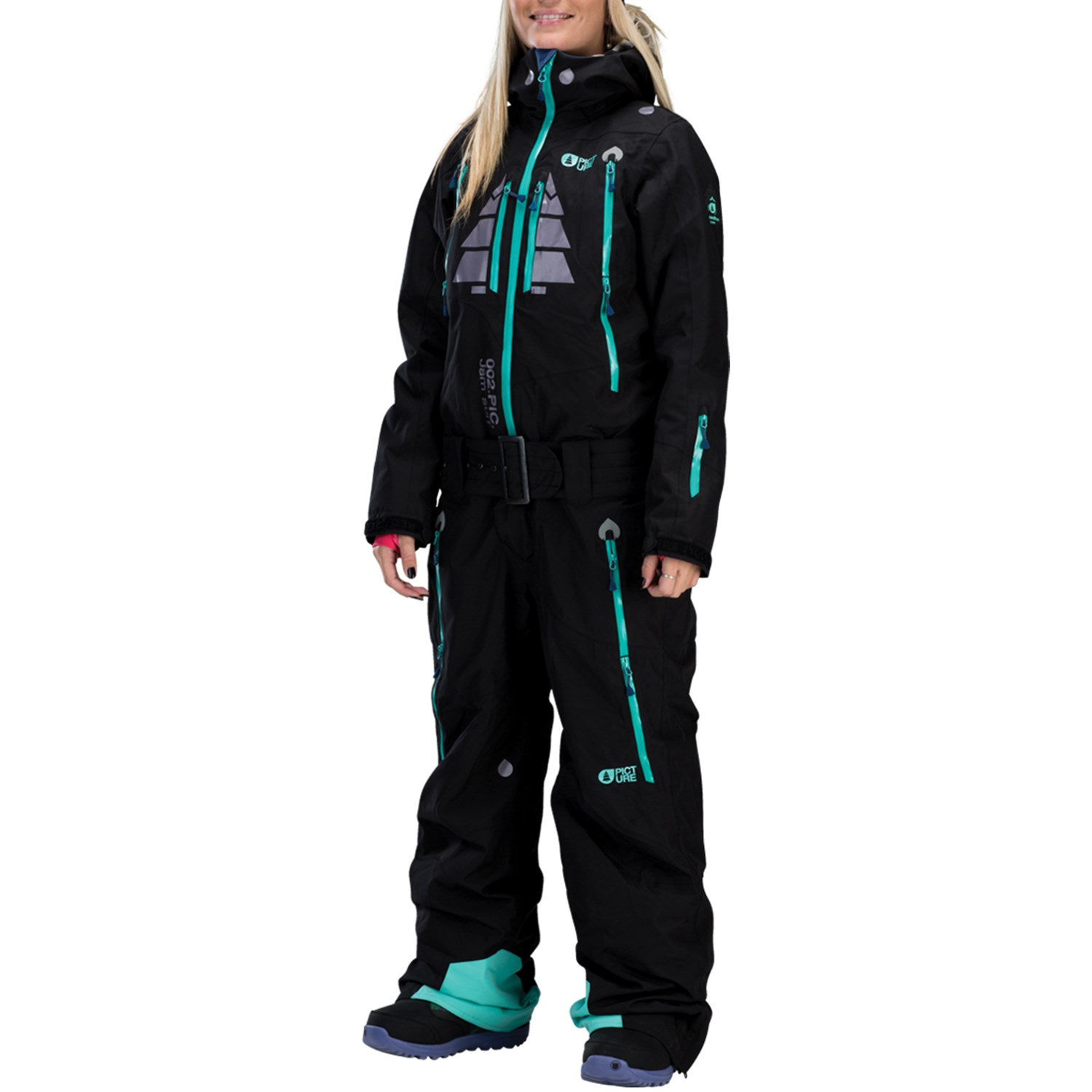 Womens Snow Suit One Piece >> Picture Organic Jam One Piece Women S Evo