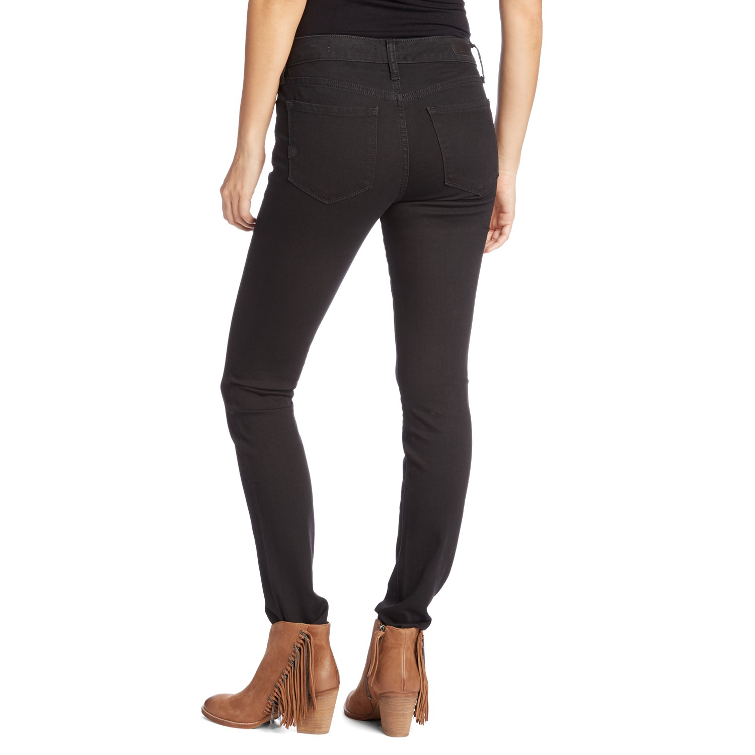 Black Super Skinny Jeans Womens - Jeans Am