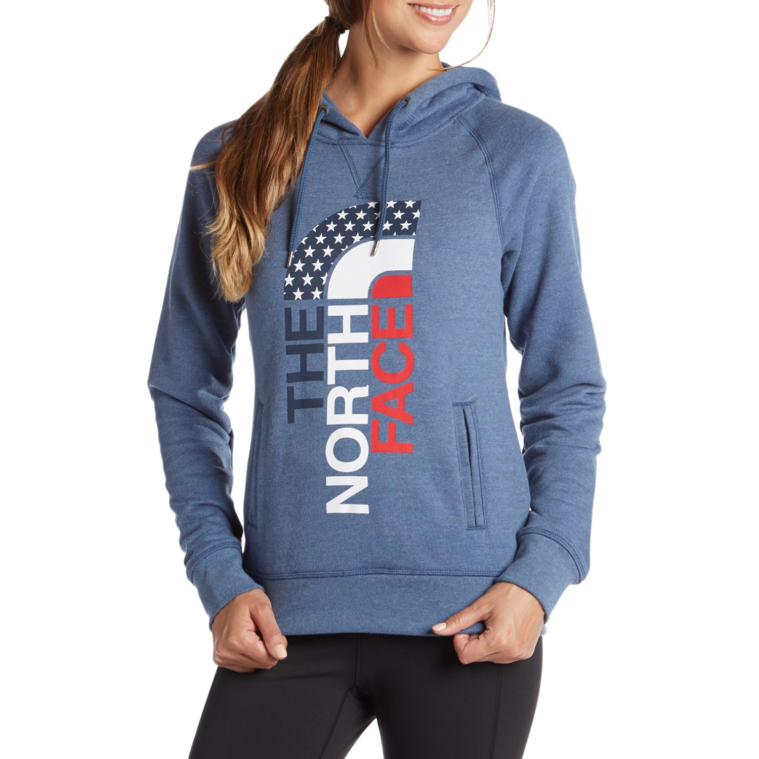 The North Face USA Pullover Hoodie - Women s  8873041e3