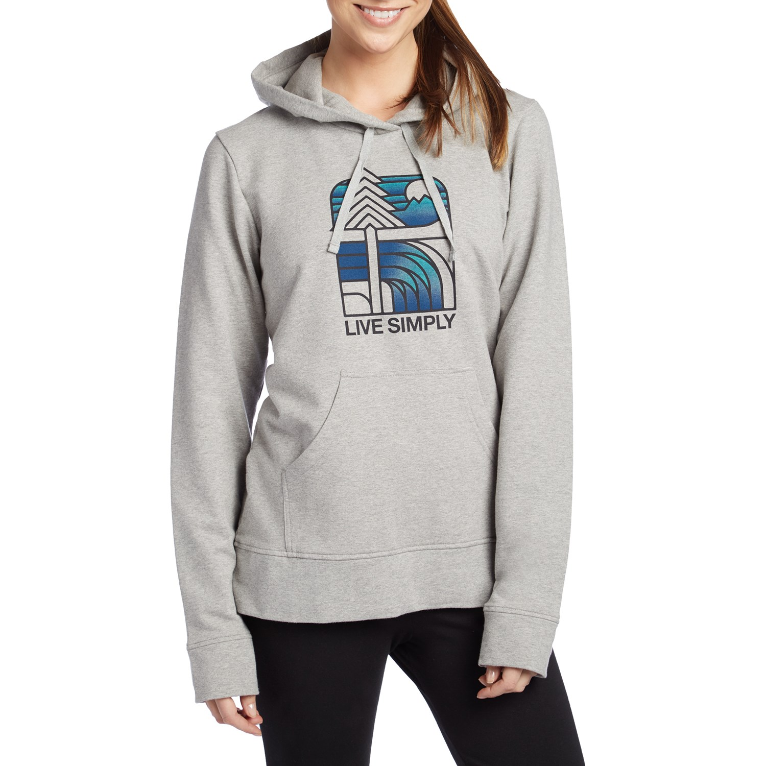 35cdd1a8c Patagonia Live Simply Landscape Pullover Hoodie - Women's | evo